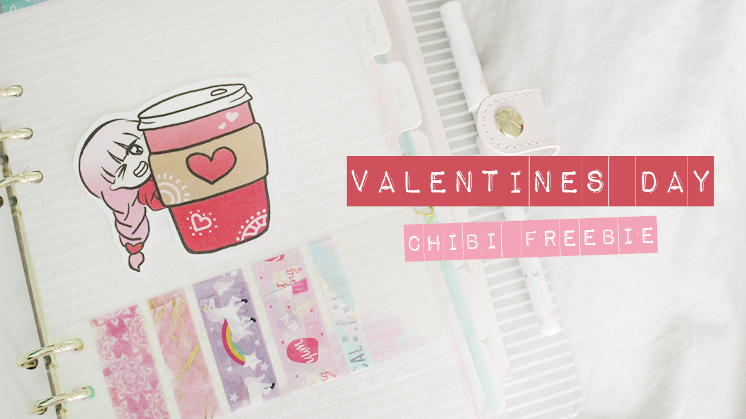 Valentine's Day Chibi Freebies