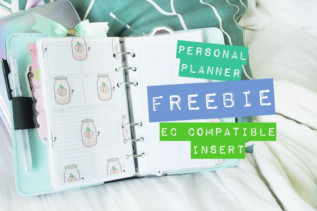 Freebie Personal Planner Inserts