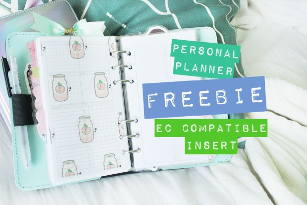 freebie personal planner